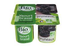 Yaourt brassé aux pruneaux bio Bio nat'