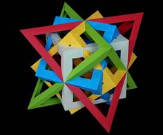 Origami Cubes and Tetrahedra
