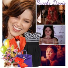 """fav female character: Brooke Davis"" by coco92 ❤ liked on Polyvore"