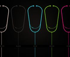 These are almost as cool as my real stethoscope.  Stethedphone - stethoscope headphones Pink please!!