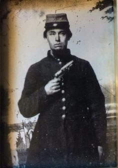 "Corporal Levi Y. Lockhart, Co. K the ""Orange Cavalry"" 19th NC State Troops, 2nd NC Cavalry, thanks to Greg Mast."