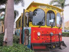 The Fort Lauderdale Sun Trolley. A great way to see FTL and get around Downtown and the Beaches.