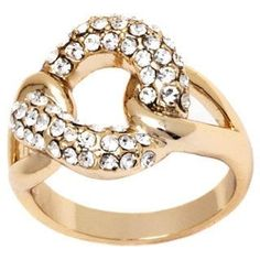 Peermont Jewelry Gold-plated Node Ring