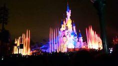 Soirée Disneyland Paris 3 mars 2017  /  Disneyland Paris March 3rd 2017 on the evening