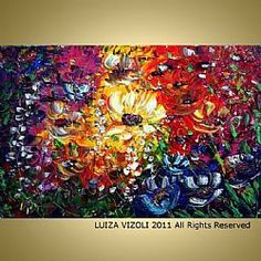 FLOWERS GARDEN  LUIZA VIZOLI