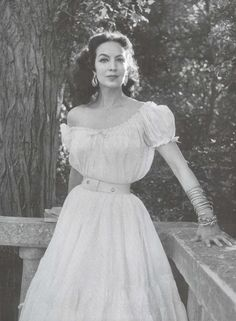 #modcloth #wedding  8. Vintage Style Icon  Maria Felix Latina answer to Elizabeth Taylor with a lot more smolder. This woman rocked Cartier, Dior, and Channel and yet still seemed approachable and modest. Iconic