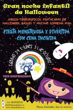 Fiesta Infantil de Halloween 2016