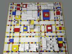 Broadway Boogie-Woogie - 3D Animation (LOST IN THE CITY) by Tung Pham (Titt). A 3D animation bases on a famous painting of Piet Mondrian - Broadway Boogie Woogie (1943).