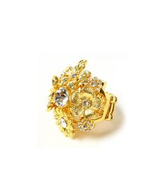 Gold Sparkle Gillian Stretch Ring