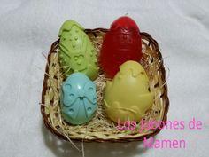 Cestita con huevos de pascua