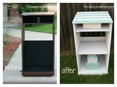 Look what I can do with old stereo cabinet!