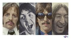 Fab Four - Medium: Fine art print on paper (Hahnemuehle 308 g/sqm) Paper size: 162.0 x 90.0 cm (63.8 x 35.4 inches) Image size: 150.0 x 74,73 cm (59.0 x 29.4 inches) Print colors: 4 Print run: 64 + 5 E.A. Management copies: 4 Signed: S. Krüger See the Sebastian Kruger Collection - http://www.rockstargallery.net/sebastian-kruger  #sebastiankruger #beatles #rockstargallery