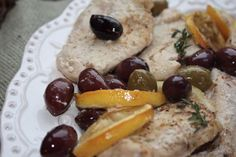 Lemon Olive Chicken low FODMAP and full of flavor!
