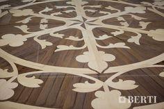 Detail wood floor Berti for ship