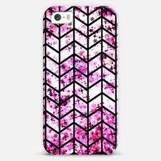 CHEVRON WONDERLAND by Artist Julia Di Sano, Ebi Emporium on #Casetify @Casetify, Winter Colorful Magenta Fuchsia Pink White Black Girly Zig Zag Pattern Modern Trendy Cool Fine Art Painting Design #iPhone #tech #device #case #cover #chevron #pattern #zigzag #trendy #chic #geometric #pink #fuchsia #cellphone #phonecase #giftforher