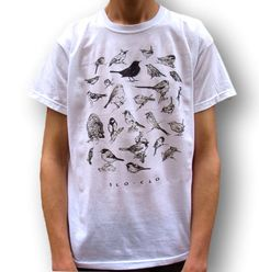 Men's Bird T-Shirt, Women's Bird T-Shirt, Bird Birthday Gift, Indie T Shirt, 90s Grunge T Shirt, Men's Indie Clothing, Bird Clothing, Sloclo by SloClo on Etsy https://www.etsy.com/listing/237177258/mens-bird-t-shirt-womens-bird-t-shirt