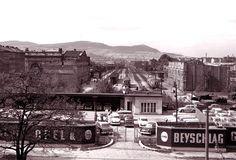 Brigittenau - Bezirksgeschichte - Geschichte des Areals um den Nordwestbahnhof Train Stations, Vienna Austria, Paris Skyline, History, Travel, Vintage, Remember This, Snow, Viajes