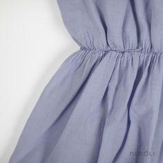 Vestido violeta con corte en la cintura para niña de Búho. #girl #dress #fashion #NeroliByNagore #SS14 #Buhobcn