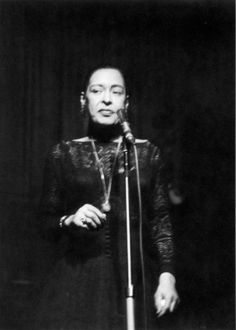 We're in the process of clearing out my late parents' house in Boston, and in the process discovered these photos from one of Billie Holiday's last performances, at Boston's…