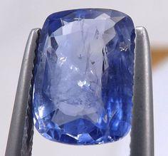 4.03 ct Nice Natural Unheated Blue Sapphire Ceylon Loose Gemstone HD video