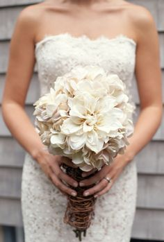 Unique rustic wedding ideas. I love these flowers!