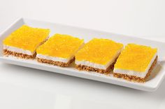 Layers of delicate crumb crust and gooey marshmallow are topped with tangy lemon Jell-O Gelatin infused with sweet pineapple.