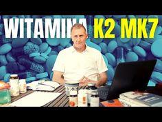 Hubert Czerniak TV - Bierzesz tę WITAMINĘ? Jeśli nie, to błąd! Sekrety witaminy K2 MK7 - YouTube Teak, Youtube, Health, Health Care, Youtubers, Youtube Movies, Salud