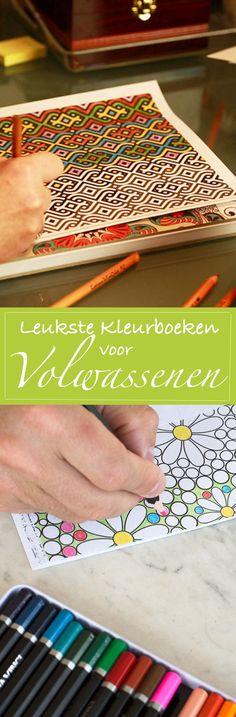 De leukste kleurboeken voor volwassenen: onze tips. http://trendbubbles.nl/de-nieuwste-kleurboeken-voor-volwassenen/