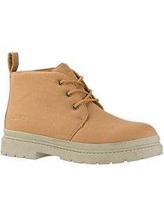 Lugz Men's Chukka Ballistic Boot Wheat/Cream 9.5 D ❤ Jack Schwartz Shoes Inc