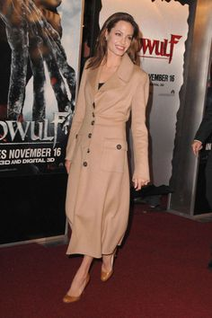 Angelina Jolie at the Beowulf Los Angeles premiere, November 2007