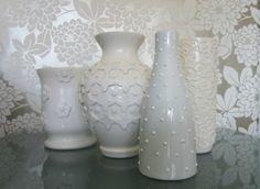 Декор вазы (мастер-класс) / Цветы, вазы и цветочные горшки /