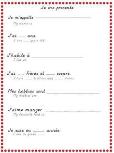 French - C'est moi
