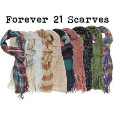 Forever 21 Scarves :)