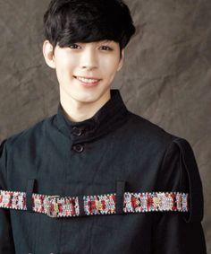 VIXX Hongbin -- haha belt shirt