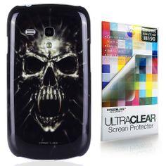 vampiro cráneo, Snap-on duro volver funda para Samsung Galaxy S3