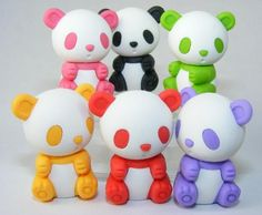 The new Eraser Pets have arrived!  Lions, Kangaroos, Pandas, Frogs, Turtles, Rhinos, Monkeys, and Panda Bears- Oh, my!  At only .99 each, you can add one of each to your collection.