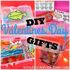 Easy DIY Valentines Day Gift Ideas!