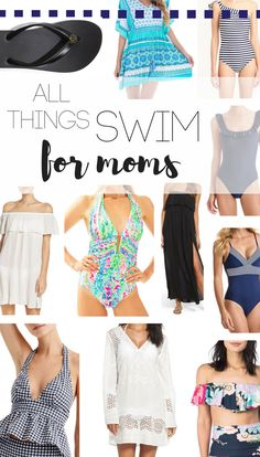 I've rounded up the best swim for mom in today's post! All things swim  mom-friendly swimsuits  and coverups that work well for wrangling toddlers.    mom swimsuits, beach vacation, summer swimsuits, mom friendly swim, mom swim, toddler friendly swim, summer packing list, spring break packing list, Jcrew swim, Nordstrom swim, womens coverups, beach coverup