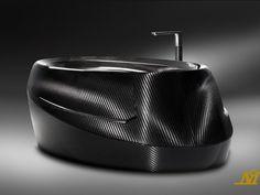 Corcel N°1 Carbon Fiber Luxury Bathtub $72000