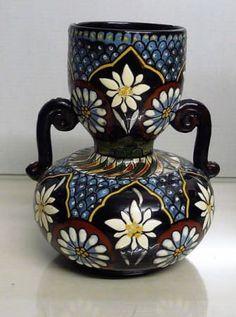 Thouner Majolika, HenkelVase aus Keramik - 24.12.2016 19:30:00 - 1