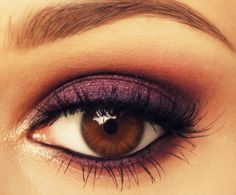 purple eye makeup click on the photo to see more of my work on my fanpage