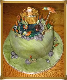 Duck Hunting - Groom's Cake By CakesUnleashed on CakeCentral.com