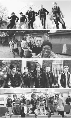 One Direction one way or another music video