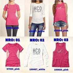 Ofertas Hollister R$49 Hollister, Pink, Blouses, Pink Hair, Roses
