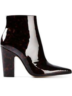 Maison Martin Margiela Tortoise Shell Ankle Boots - Start - Farfetch.com