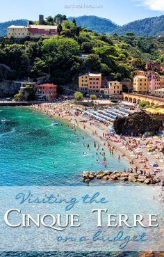 Visiting the Cinque Terre in Italy on a Budget. Money saving tips for having the best experience in the Cinque Terre without spending a fortune. Includes tips on hiking the Cinque Terre and using the trains for transportation. Travel Advice, Travel Tips, Travel Destinations, Travel Hacks, Travel Ideas, Holiday Destinations, Travel Essentials, Travel Quotes, Italy Vacation