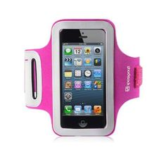 Amazon.com: IPHONE 5 SHOCKSOCK REFLECTIVE SPORTS ARMBAND CASE - HOT PINK: Cell Phones & Accessories