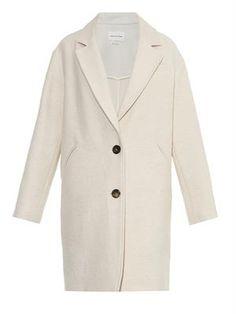 ISABEL MARANT ÉTOILE Dante textured wool-blend coat