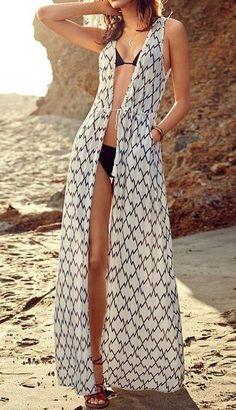 Maxi bikini cover up dress New in stock! One size fits for XS-M. Bikini Cover Up, Swimsuit Cover Ups, Bathing Suit Covers, Bathing Suits, Swimsuits, Bikinis, Swimwear, Beach Cover Ups, Mode Boho