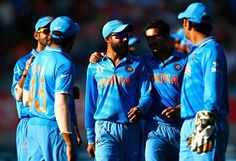 India defeats Zimbabwe by 6 wickets in 2015 world cup at Auckland. India didn't lose in pool stage at 11th world cup. Raina was declared man of the match.